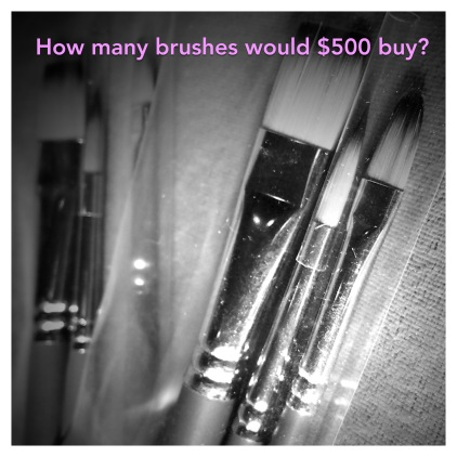 Paintbrushes 500