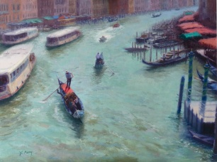 Finalist, Joan Murray, Venice Traffic