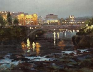 Winner - Rachel Pettit, River Front Nocture