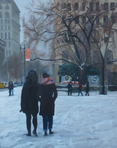 Winner, Carol Hein, Christmas in the City