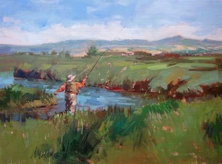 Mary Maxam, Montana Spring Creek